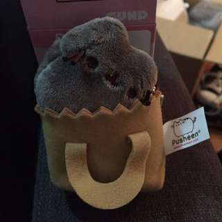 Pusheen Cat Plush Keychain Collectible