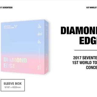 SEVENTEEN DIAMOND EDGE IN SEOUL CONCERT DVD