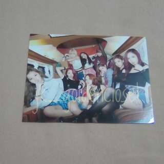 Twice - The Story Begins Photocard (Taiwan press)