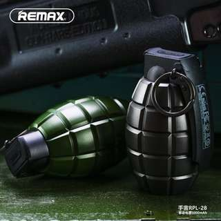 Original Remax Grenade Powerbank 5000mah
