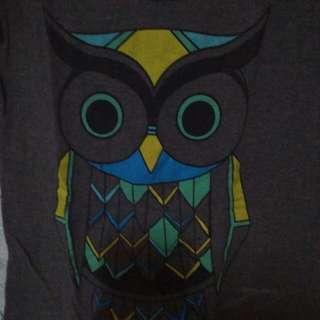 Owl Designed Top