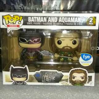 [PRE-ORDER] Justice League Batman & Aquaman 2-pack Funko Pop