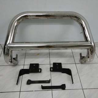 Guard bumper chrome vigo