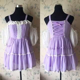 Korean Pastel Dress