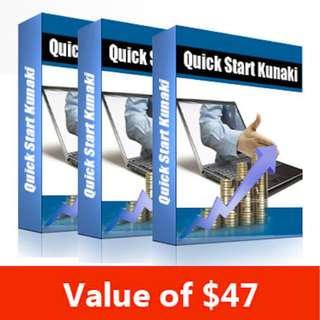 Quick Start Kunaki: How to Turn Your Digital Dust Into Physical Gold In a Matter of Minutes! eBook