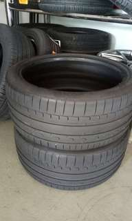 Continental tyre 255/35/19
