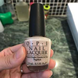 Make love OPI nail polish