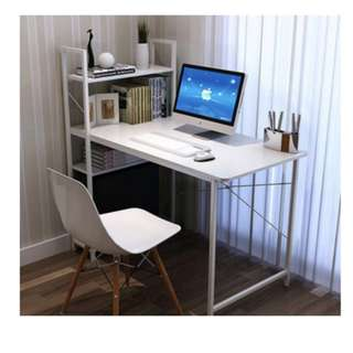 Computer Table with Attached Bookshelves (120 cm x 60 cm)