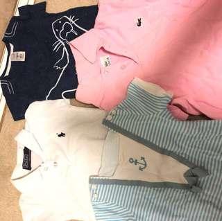 Bundle Baby Boy Tshirts 6-18M