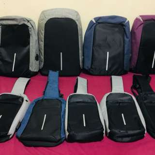 Anti theft Backpack/Body Bag(iwas nakaw bag)
