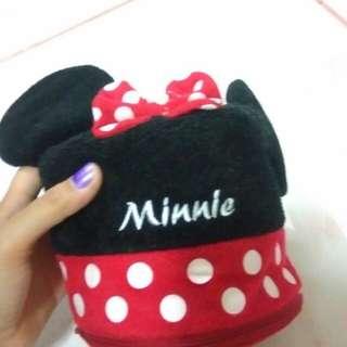 Minnie mouse tissue holder