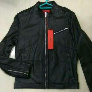 🈹 Hugo Boss Leather Jacket 皮褸 外套 禮物