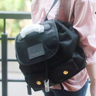 Marc Jacobs Woman's Backpack in Black