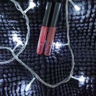 Fashion 21 lipgloss