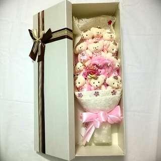 Teddy Bears Bouquet