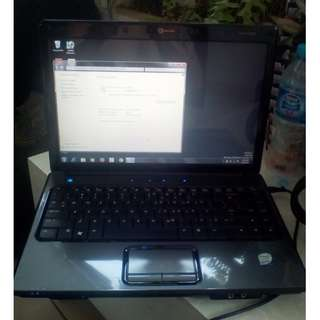 Laptop 2nd Mulus,Lancar Jaya. HP Compaq T5450 Presario V3000.Abu-Abu Metalik spt Carbon. Intel Core 2Duo.
