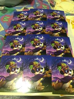 Disney stickers x 12 (chips x 12)