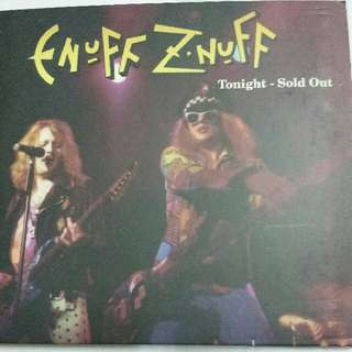Music CD: Enuff Z'nuff ‎– Tonight - Sold Out - Hard Rock, Glam - Metal Mind Records Ltd Edition Digipak