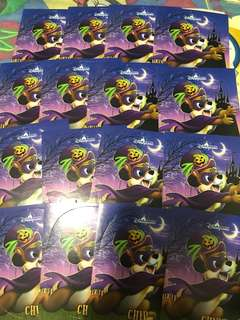 Disney stickers x 16 ( chips x 16)