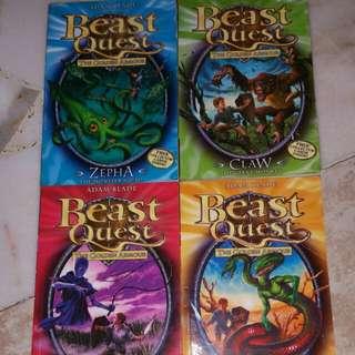 Beast Quest #7 - #10