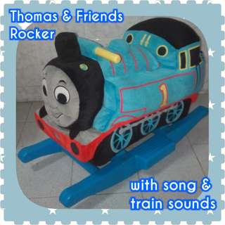Thomas & Friends Plush Rocking Train