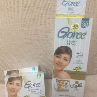 Goree Soap and cream