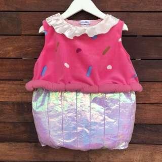 *NEW* Baby Girls cupcake costume size 2
