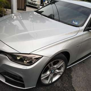 BMW f30 316 2014 direct owner  for sale with my sport body kitt and m sport rim
