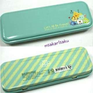 Tsum Tsum 鐵筆盒 (薄荷綠色)