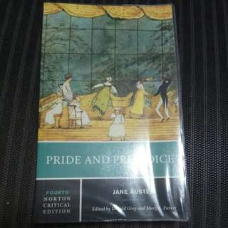Pride and Prejudice (Jane Austen, Norton Critical Edition)