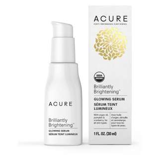 Acure Brilliantly Brightening Glowing Serum