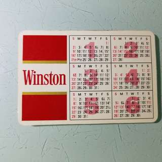 懷舊年曆卡,雲絲頓,老香港懷舊物品古董珍藏