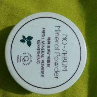 No sebum powder loose powder transparant powder