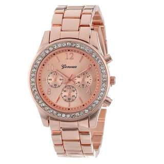 The Crystal Watch (Rose Gold)
