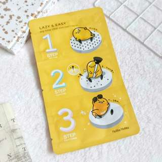 HolikaHolika 3 step nose pore strip set