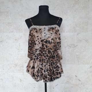 Leopard Print sexy lingerie