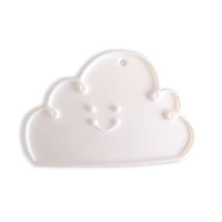 Cloud baby teether (white)