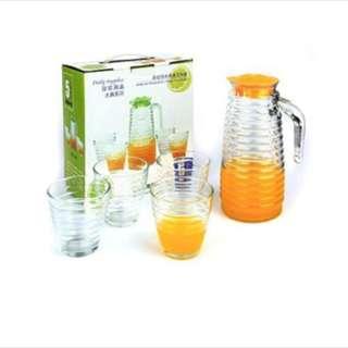 (5in1) waterglass set (tersedia 2 model)