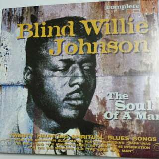Music CD: Blind Willie Johnson ‎– The Soul Of A Man