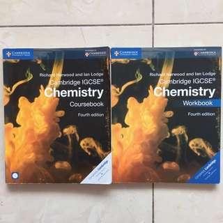 Cambridge IGCSE Chemistry Coursebook / Workbook Fourth Edition