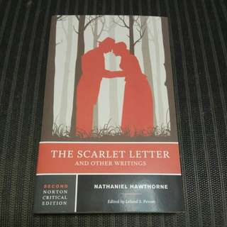 The Scarlet Letter and other writings (Nathaniel Hawthorne, Norton critical edition)