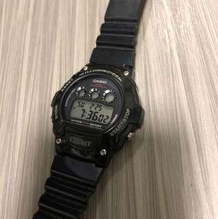 Casio plastic watch