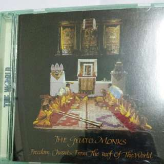 Audio CD: The Gyuto Monks ‎–Freedom Chants From The Roof Of The World