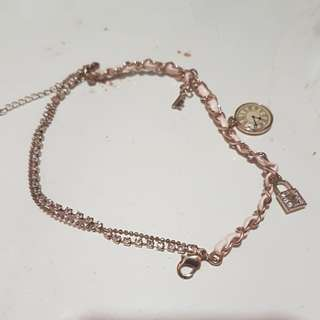 Pink and rose gold color Bracelet. Brand New.