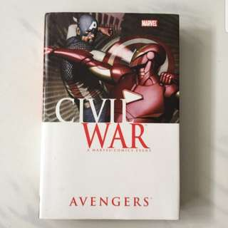 avengers civil war hardcover
