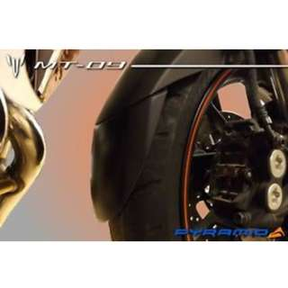 Pyramid Fender Extender for Yamaha MT09 Tracer