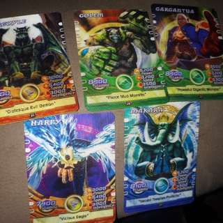 Mythical lords cards sold per pc