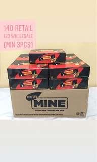 Mine wafer chocolate