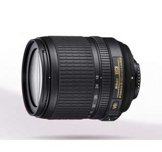 Nikon 18-105mm Lens