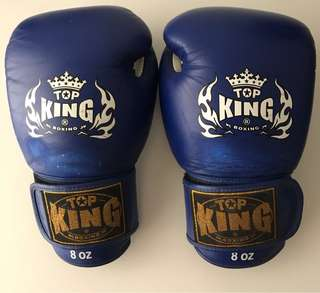 Top King Muay Thai Boxing Gloves